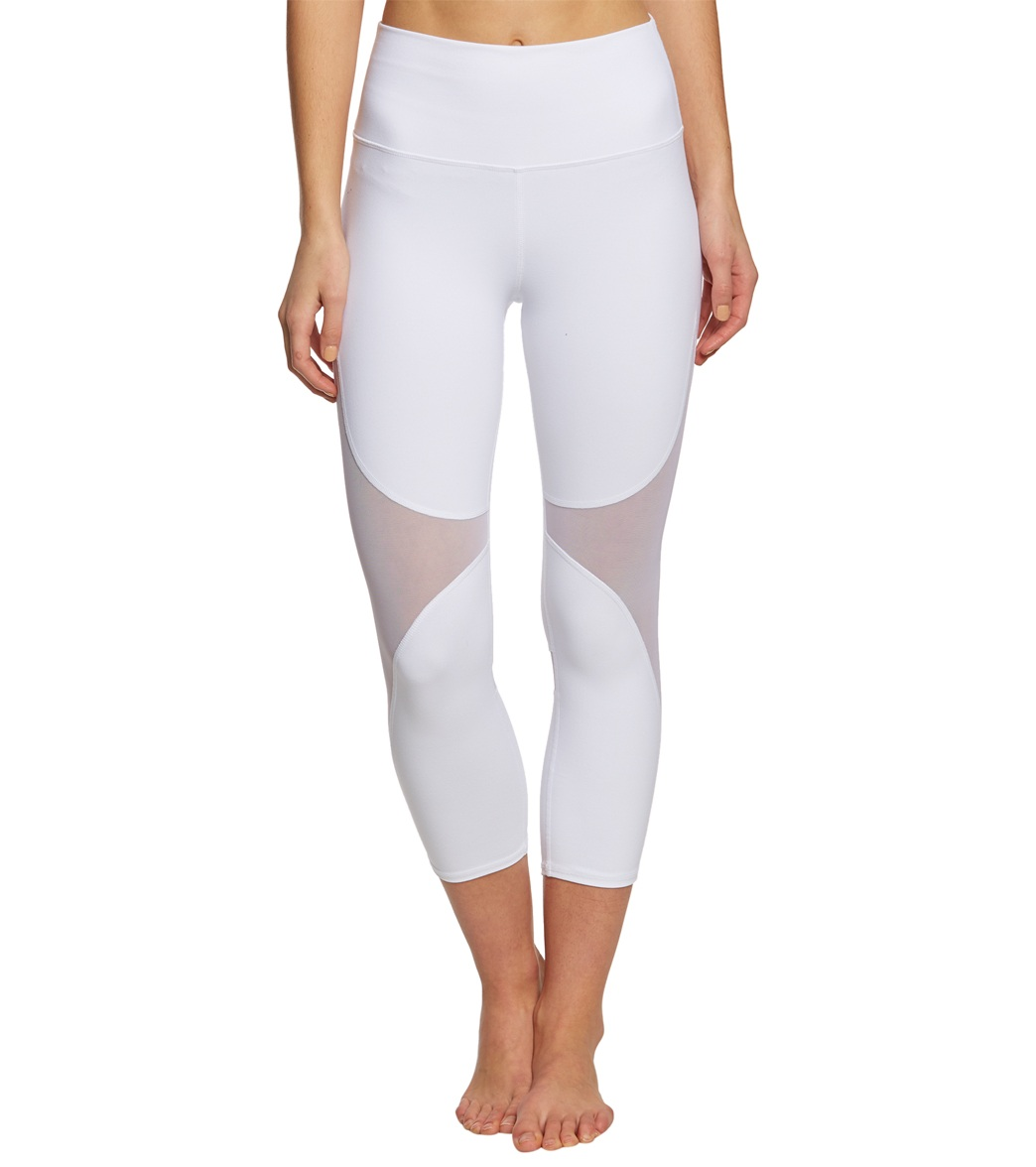 Alo Yoga High-Waist Coast Yoga Capris at YogaOutlet.com - Free ...