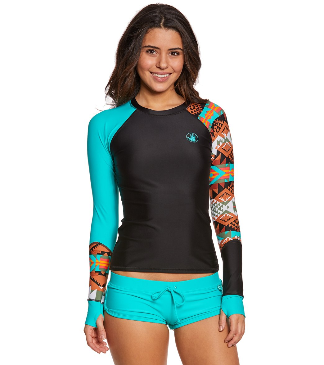 46c203ca57 Body Glove Women s Terra Sleek L S Rashguard at SwimOutlet.com ...