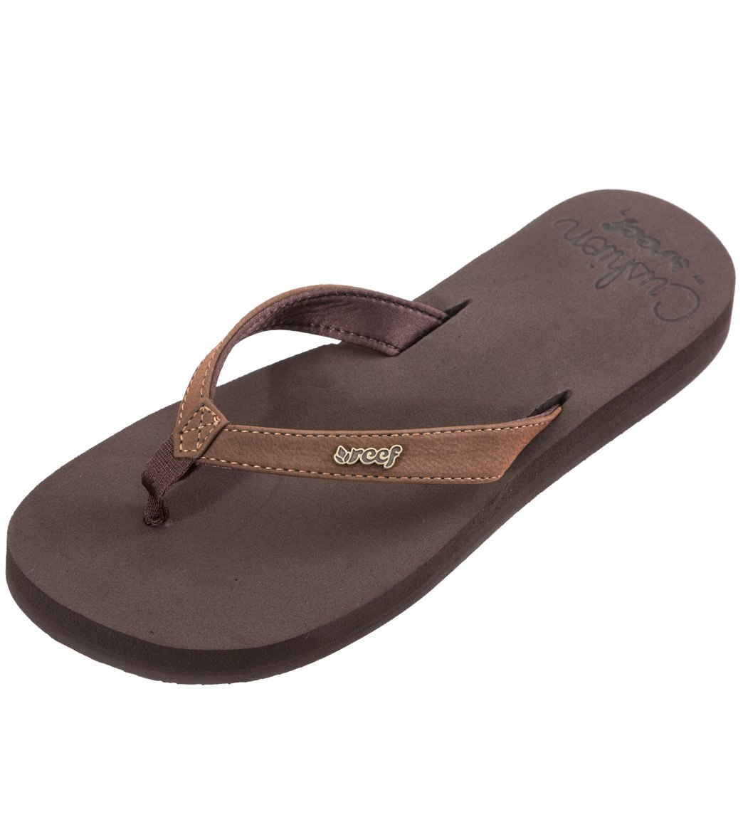 156204cf602598 Reef Women s Cushion Luna Flip Flop at SwimOutlet.com