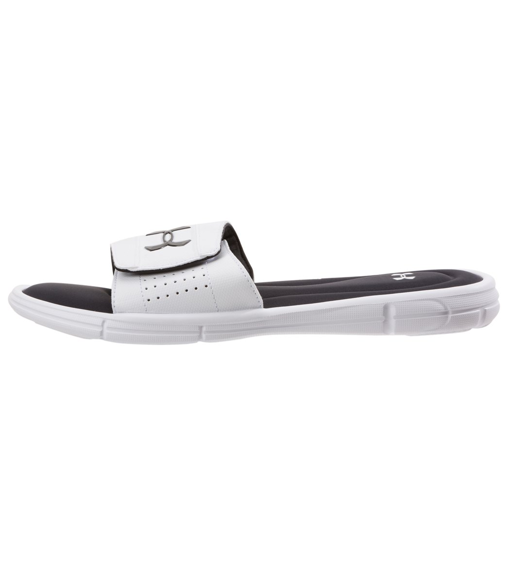 9301689c7072 Under Armour Men s Ignite V Slide Sandal at SwimOutlet.com