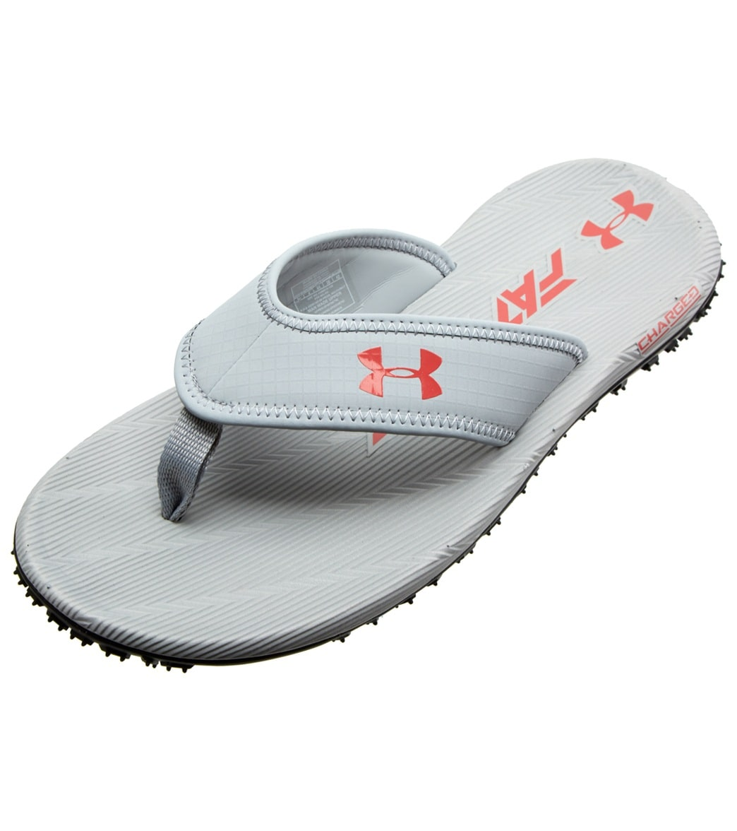 Under Armour Men\'s Fat Tire Flip Flop at SwimOutlet.com - Free Shipping