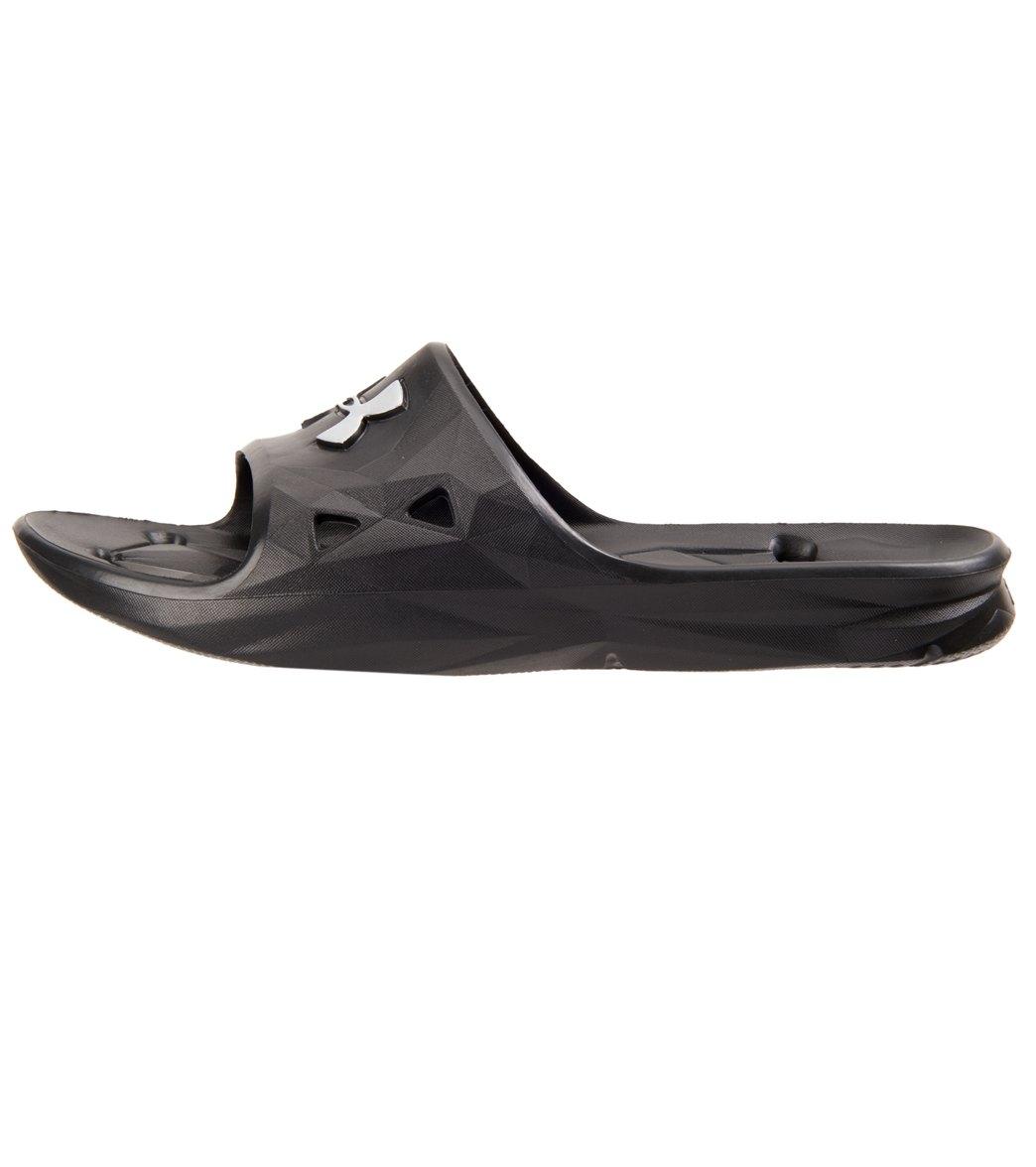 855e7695953 Under Armour Men s Locker III Slide Sandal at SwimOutlet.com