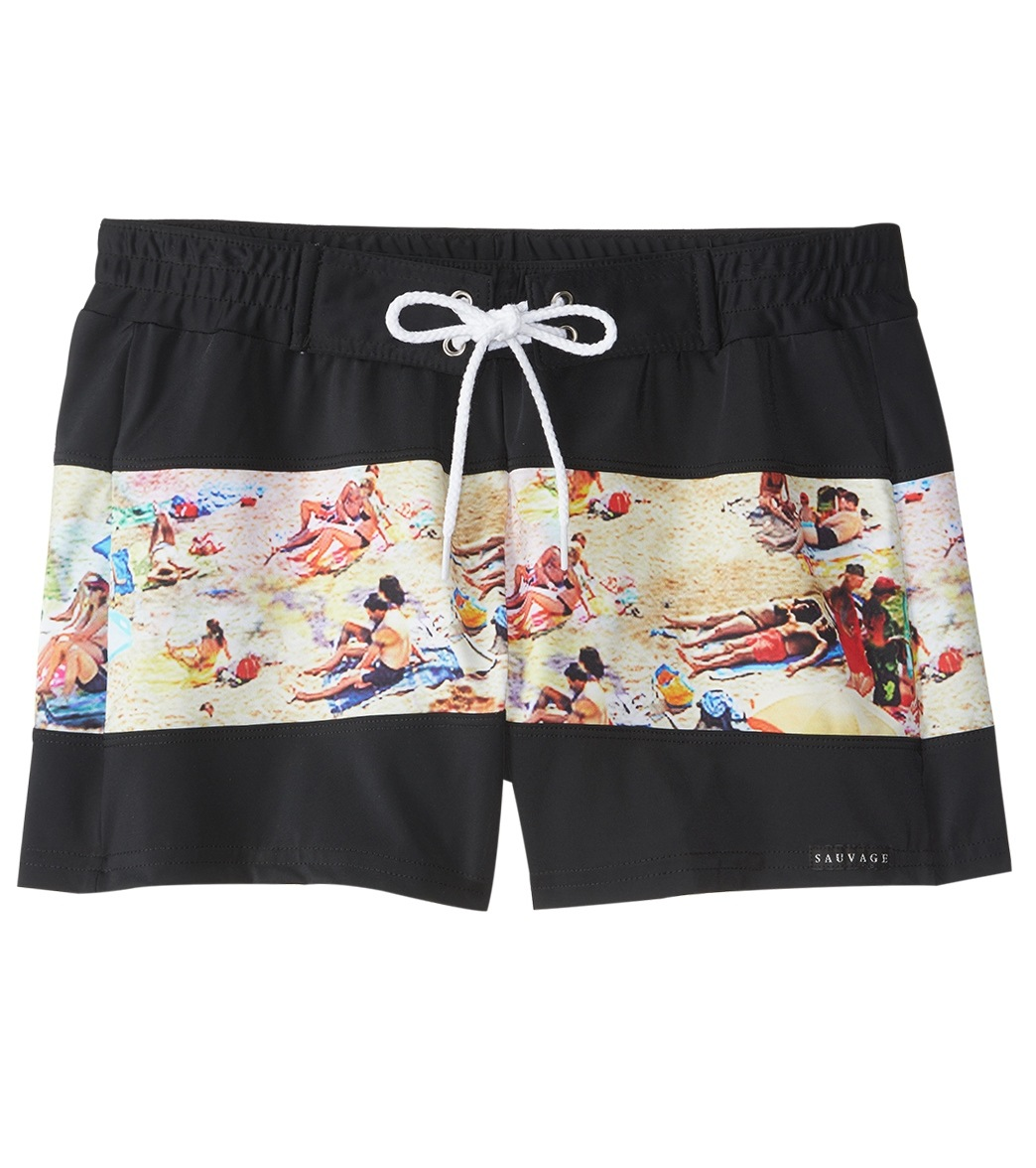 91b8f080a5ddf Sauvage Key West Solid Swim Trunk at SwimOutlet.com - Free Shipping