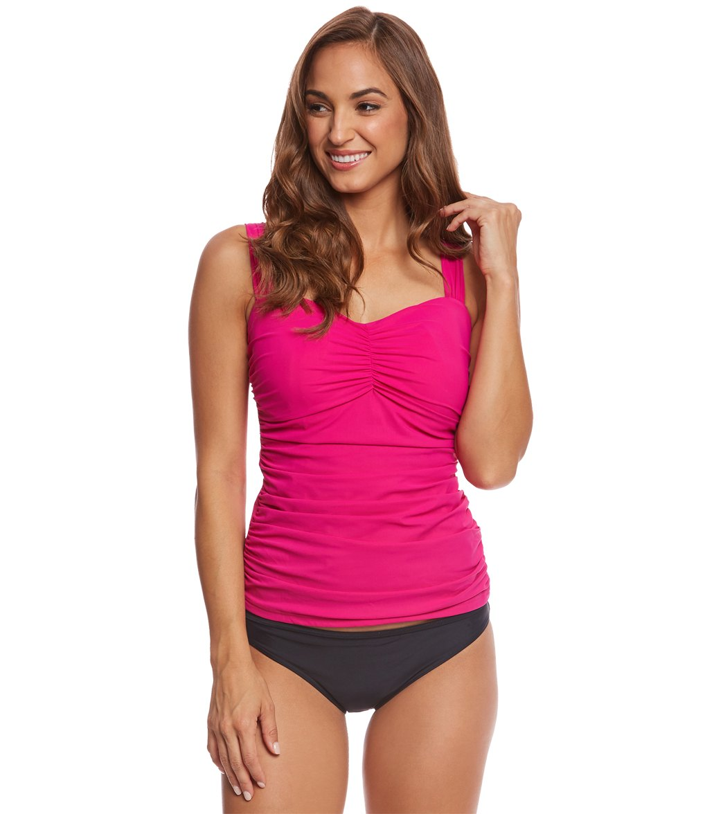 d93c6813a46 Profile by Gottex Tutti Frutti Tankini Top (E Cup) at SwimOutlet.com ...
