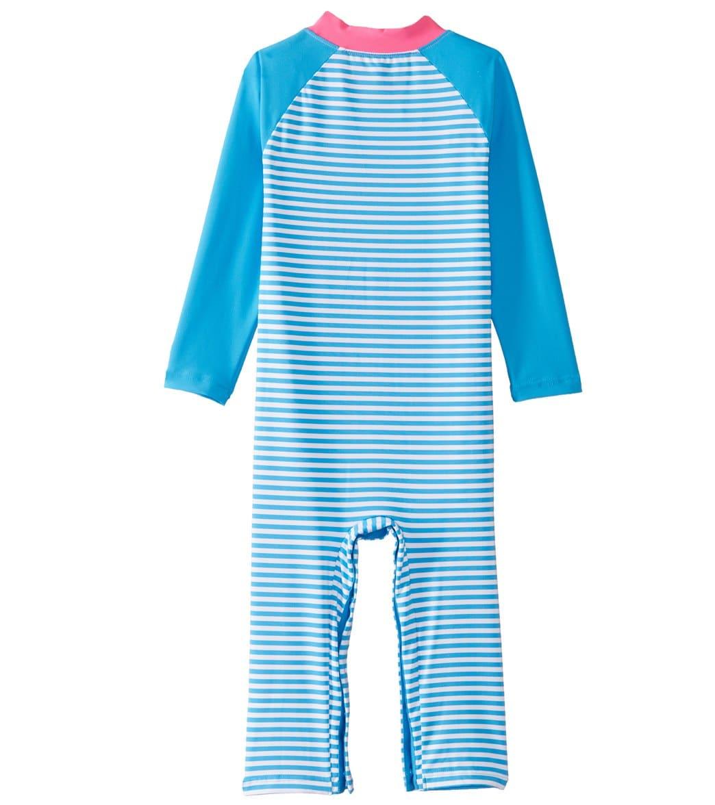 b42b51d9b736d Coolibar Girls' UPF 50+ Beach One Piece Swimsuit (6-24mos) at SwimOutlet.com