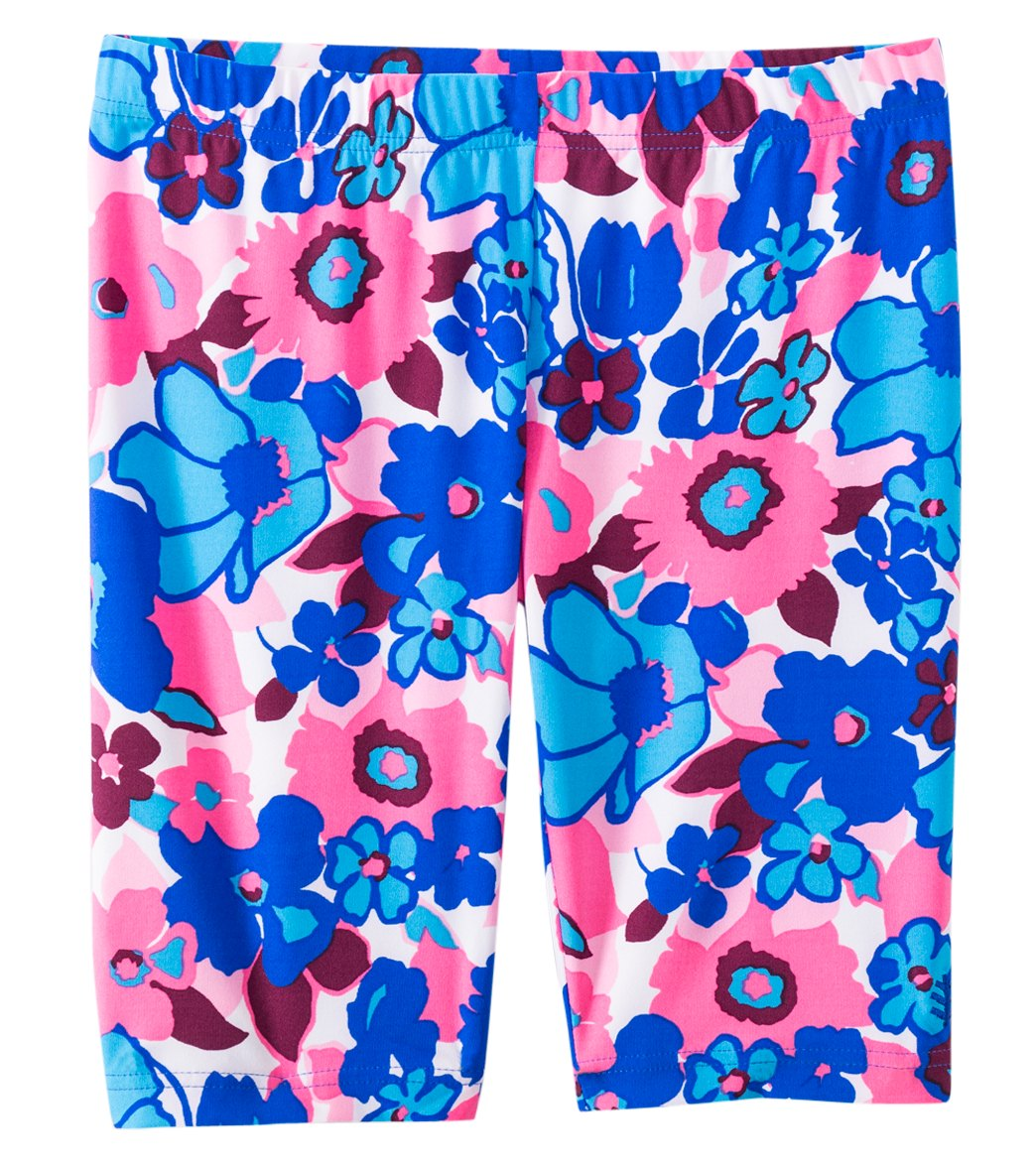 fc453644bd Coolibar Girls' UPF 50+ Printed Swim Shorts (4-12) at SwimOutlet.com