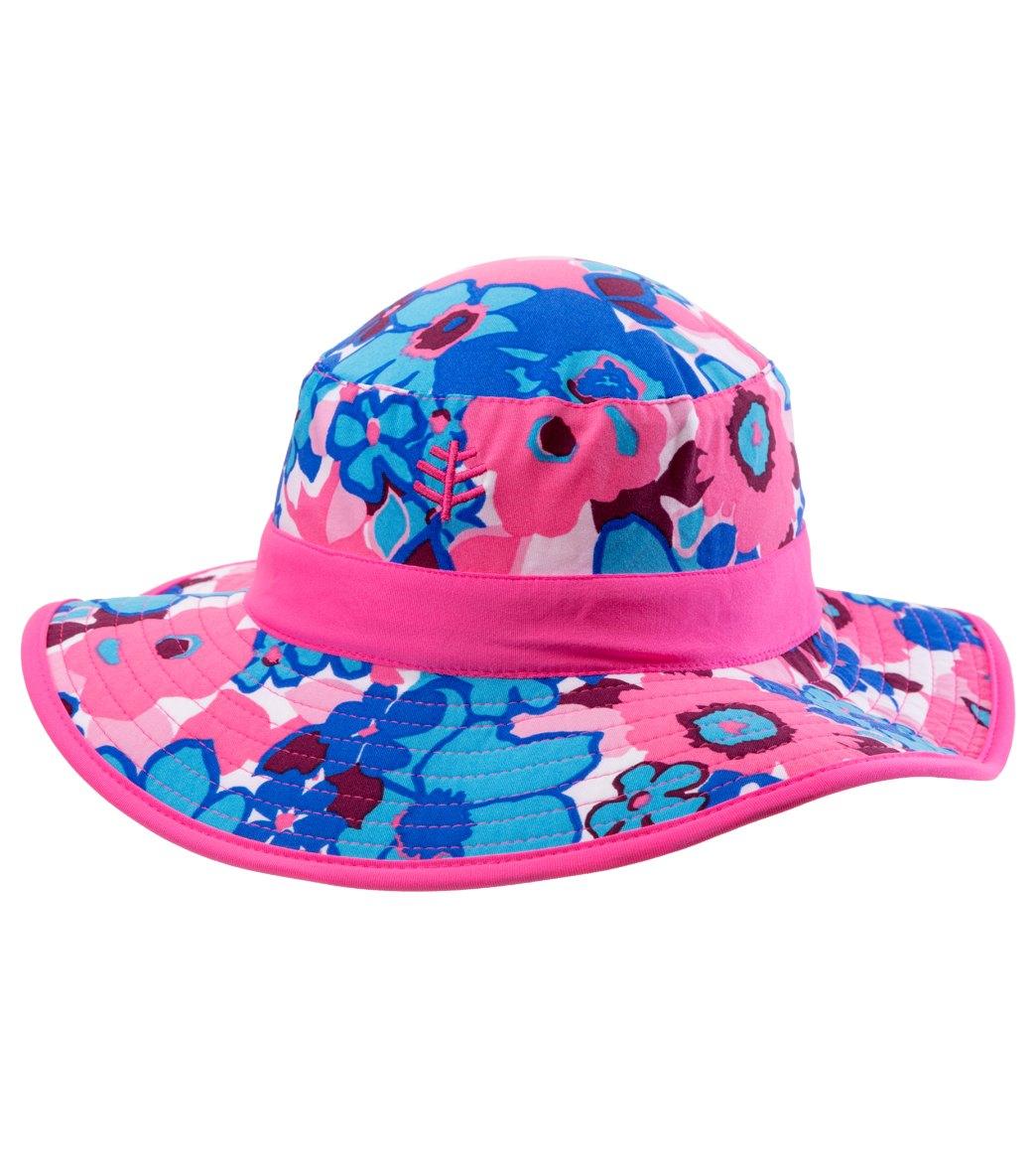 80581c9e9d41f Coolibar Kids  UPF 50+ Reversible Surf Bucket Hat at SwimOutlet.com