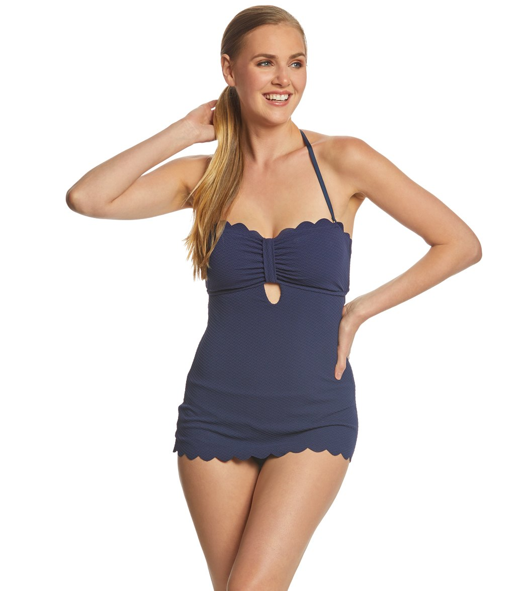 fb82298b9a105f Jessica Simpson Swimwear Under The Sea Retro One Piece Swimsuit at ...