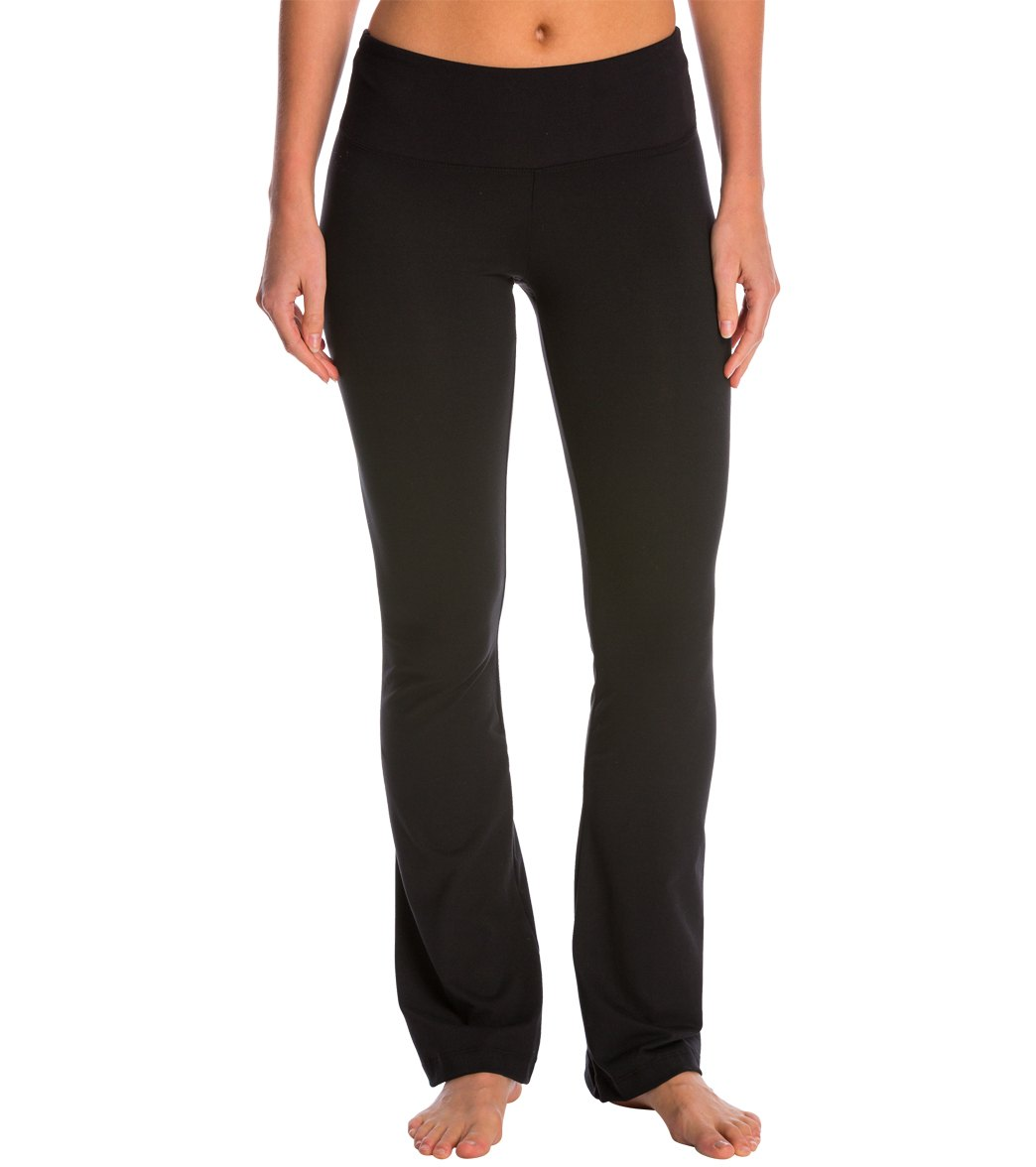 Balance Collection Petite Barely Flare Yoga Pants At