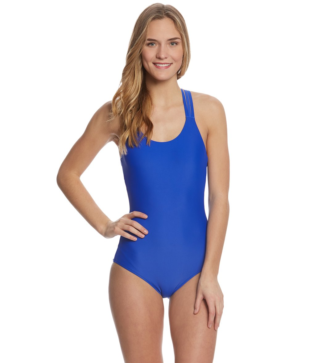 5f7e53c3ee Body Glove Smoothies Crossroads One Piece Swimsuit at SwimOutlet.com - Free  Shipping