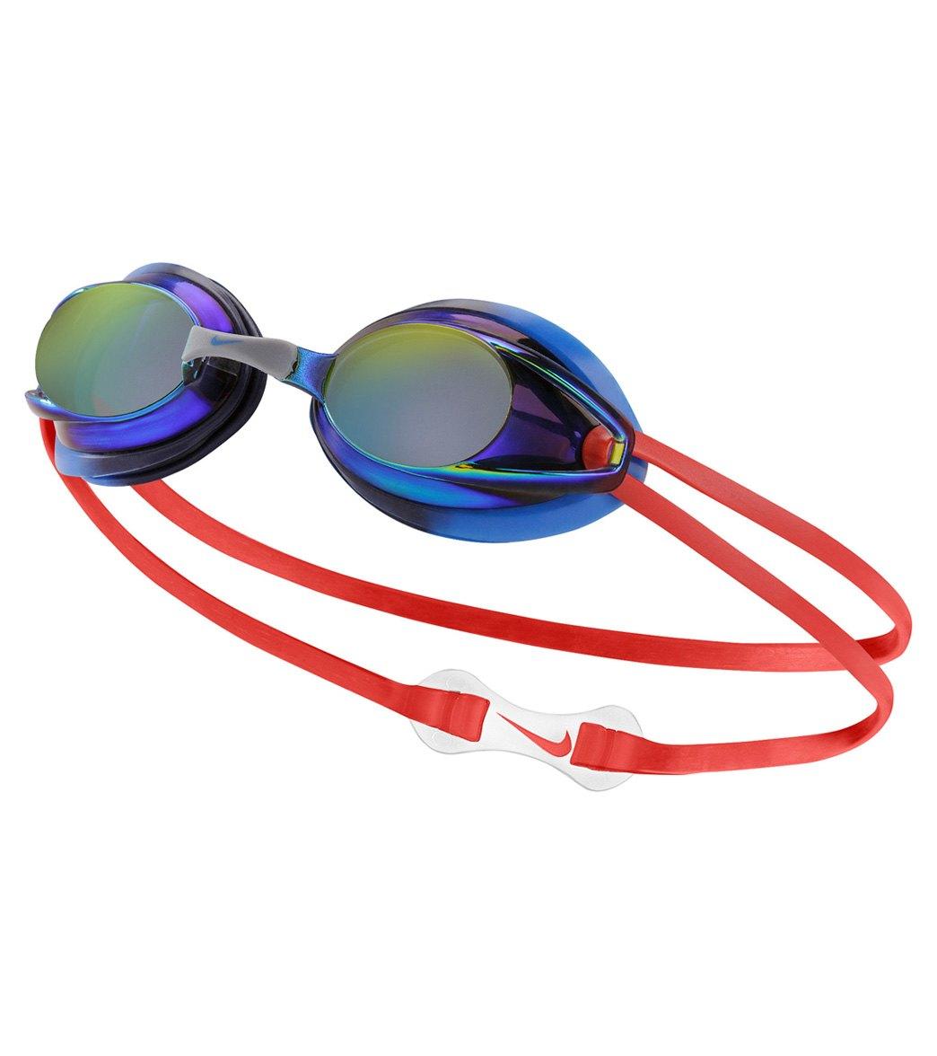 68864f5c55e7 Nike Remora Mirrored Junior Goggle at SwimOutlet.com