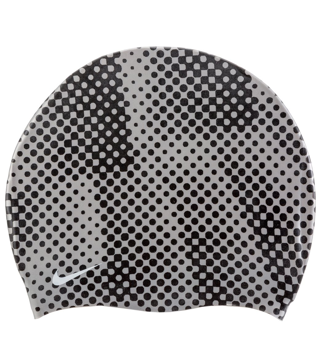 2d6bca2544f Nike Carbon Fiber Silicone Cap at SwimOutlet.com