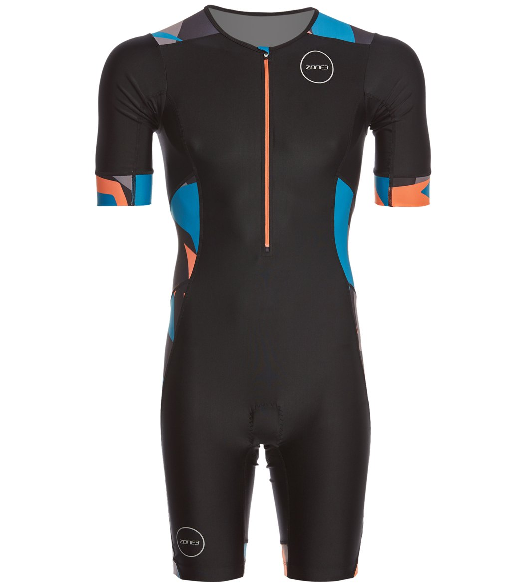 8062309ad17 Zone 3 Men's Activate Plus Sleeved Trisuit at SwimOutlet.com - Free Shipping