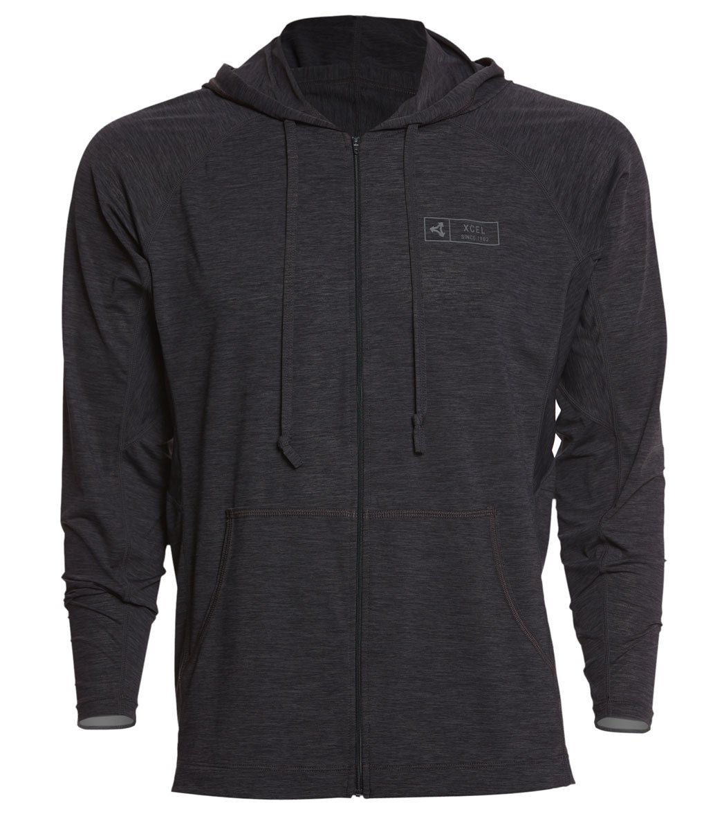 a04e57886348 Xcel Men's Pacific Front Zip Surf Hoodie at SwimOutlet.com - Free Shipping