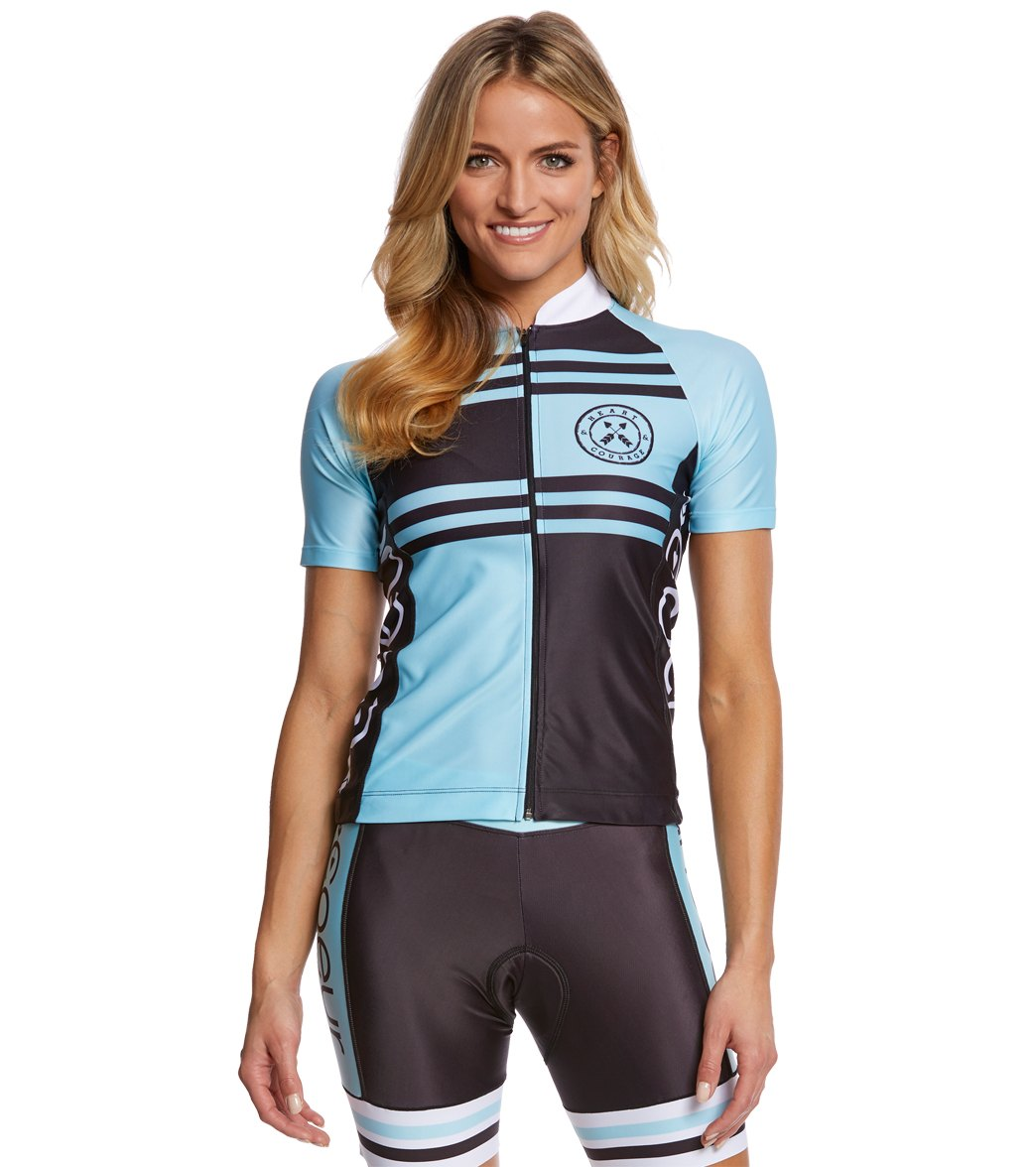 1b48a66b0 Coeur Women s Short Sleeve Cycle Jersey at SwimOutlet.com - Free ...