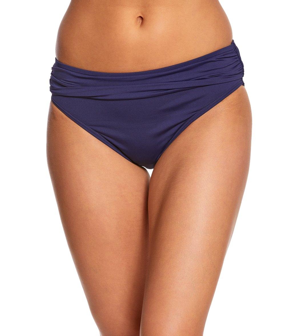 f6e16d5ef1 Tommy Bahama Pearl Solids High Waist Sash Bikini Bottom at SwimOutlet.com -  Free Shipping