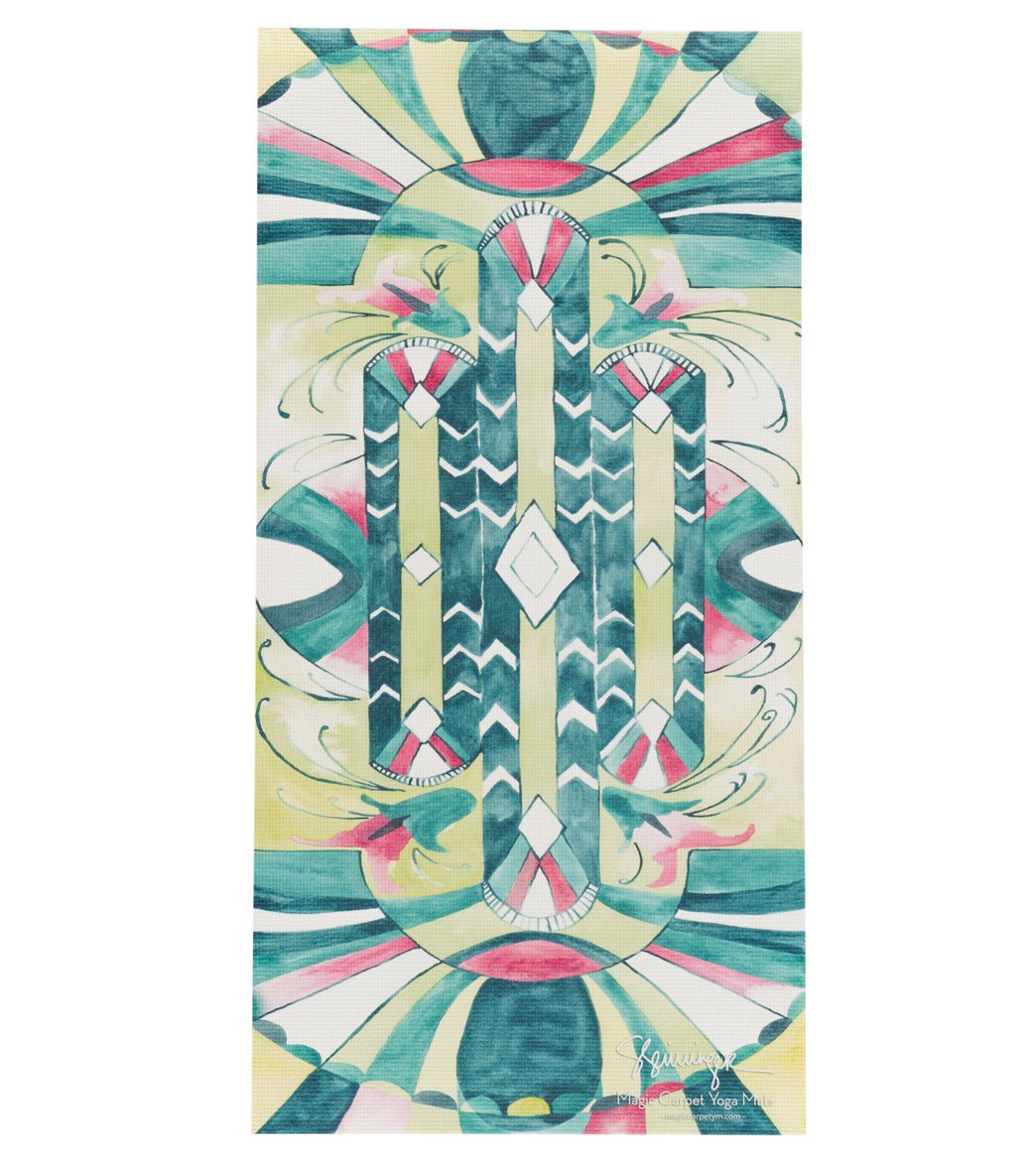 Magic Carpet Young Yogi Deco Kids Yoga Mat At Swimoutlet