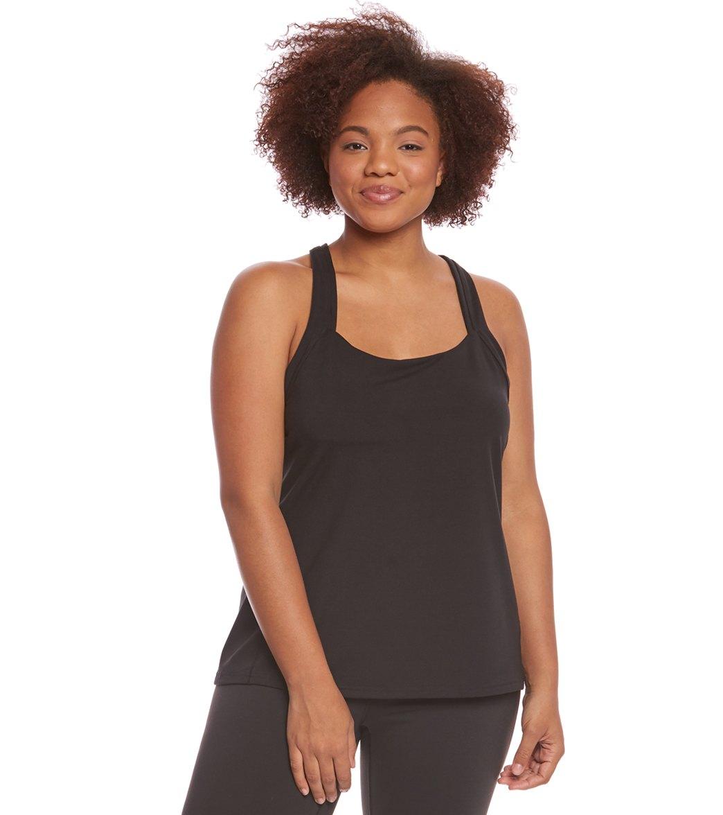 9b5c69668ac782 Lucy Women's Plus Size Fitness Fix Tank