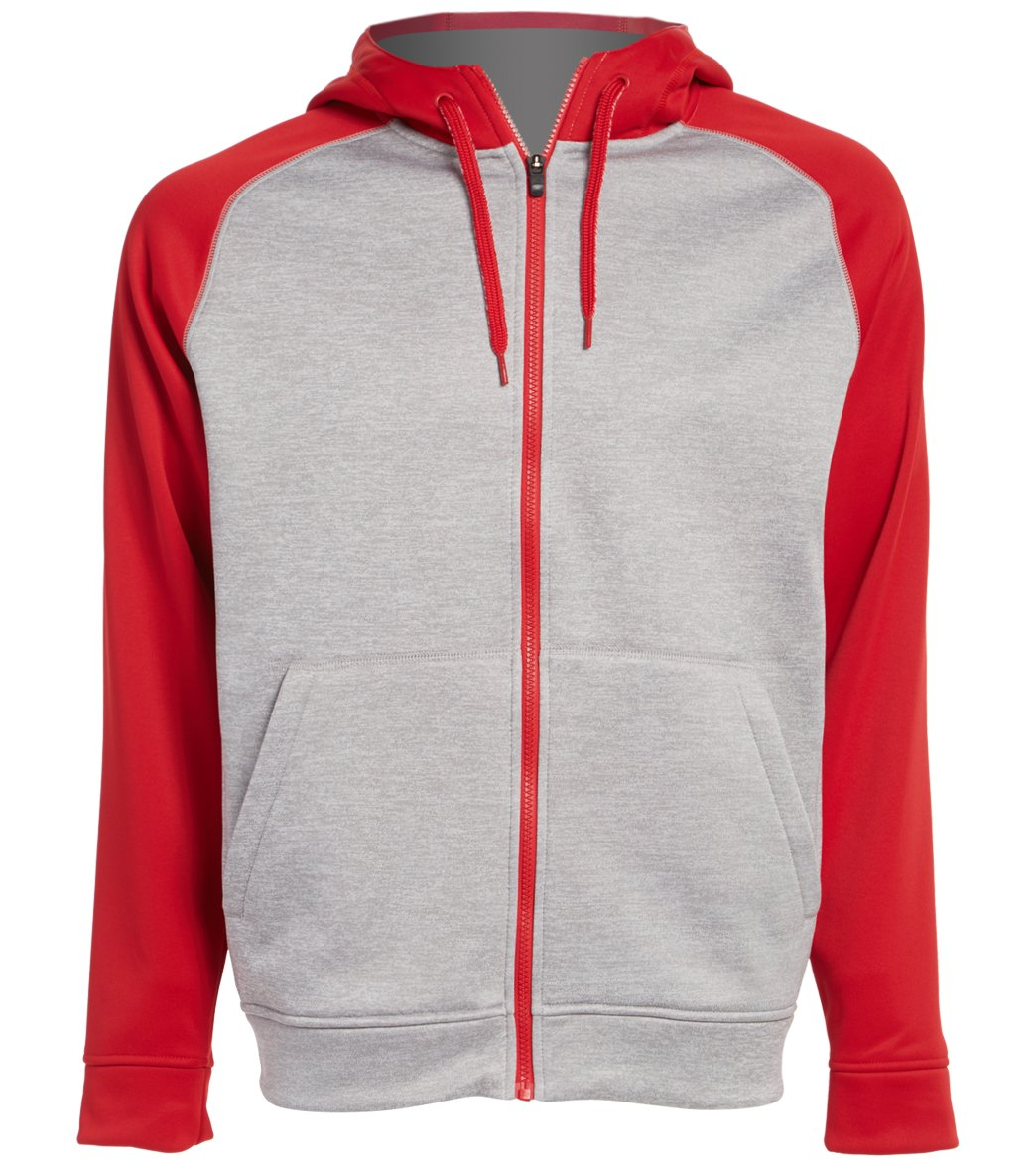 adidas fleece full zip hoodie