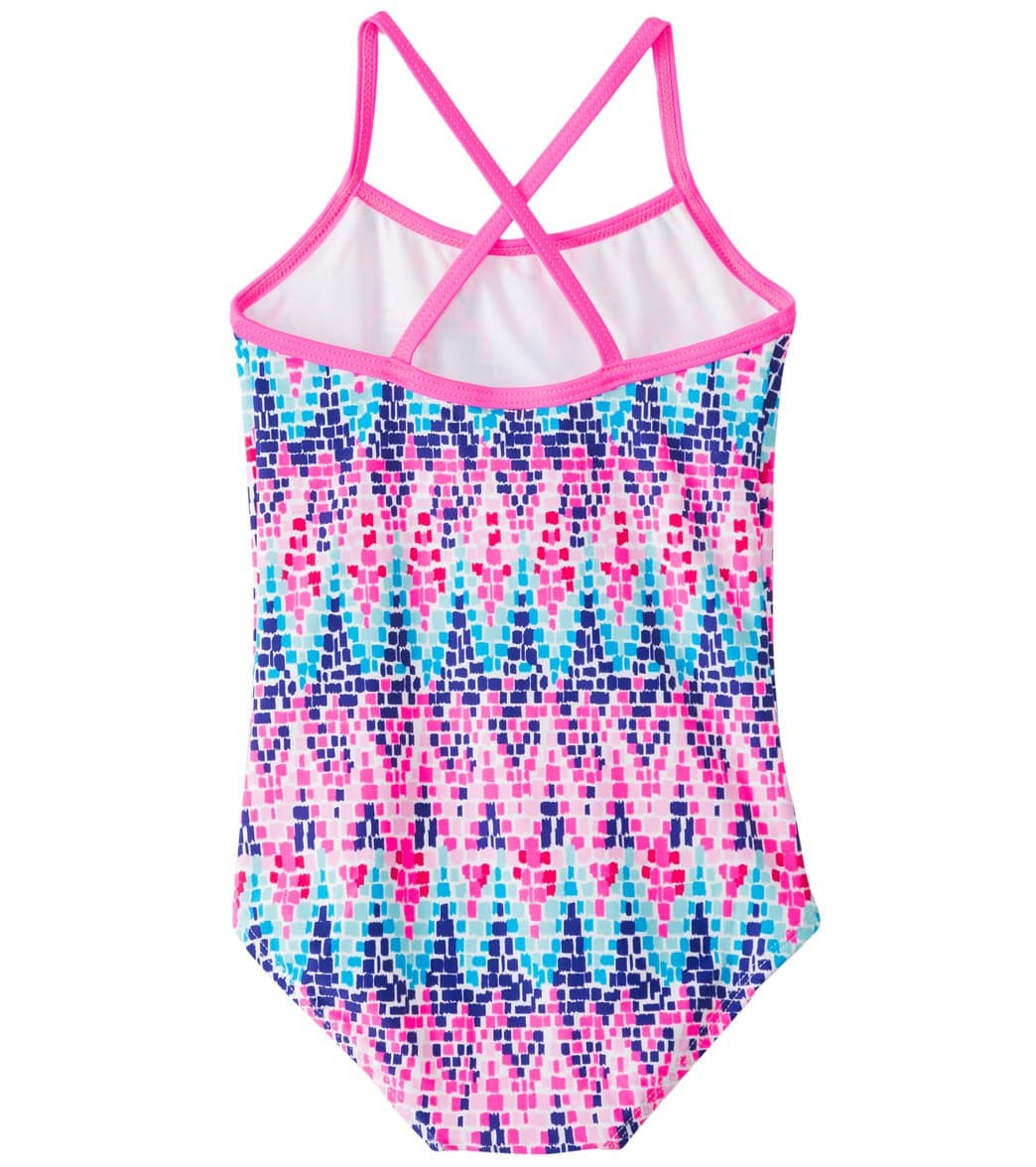 2f02544b99 Kanu Surf Girls' Candy One Piece Swimsuit (2T-4T) at SwimOutlet.com