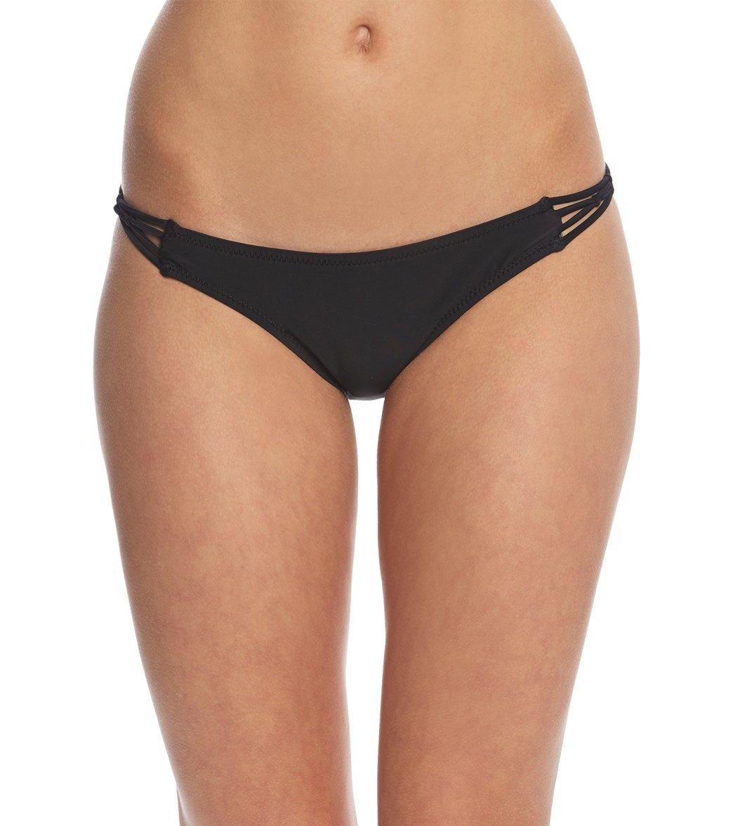 9ae9c463e6 Volcom Simply Solid Full Bikini Bottom at SwimOutlet.com