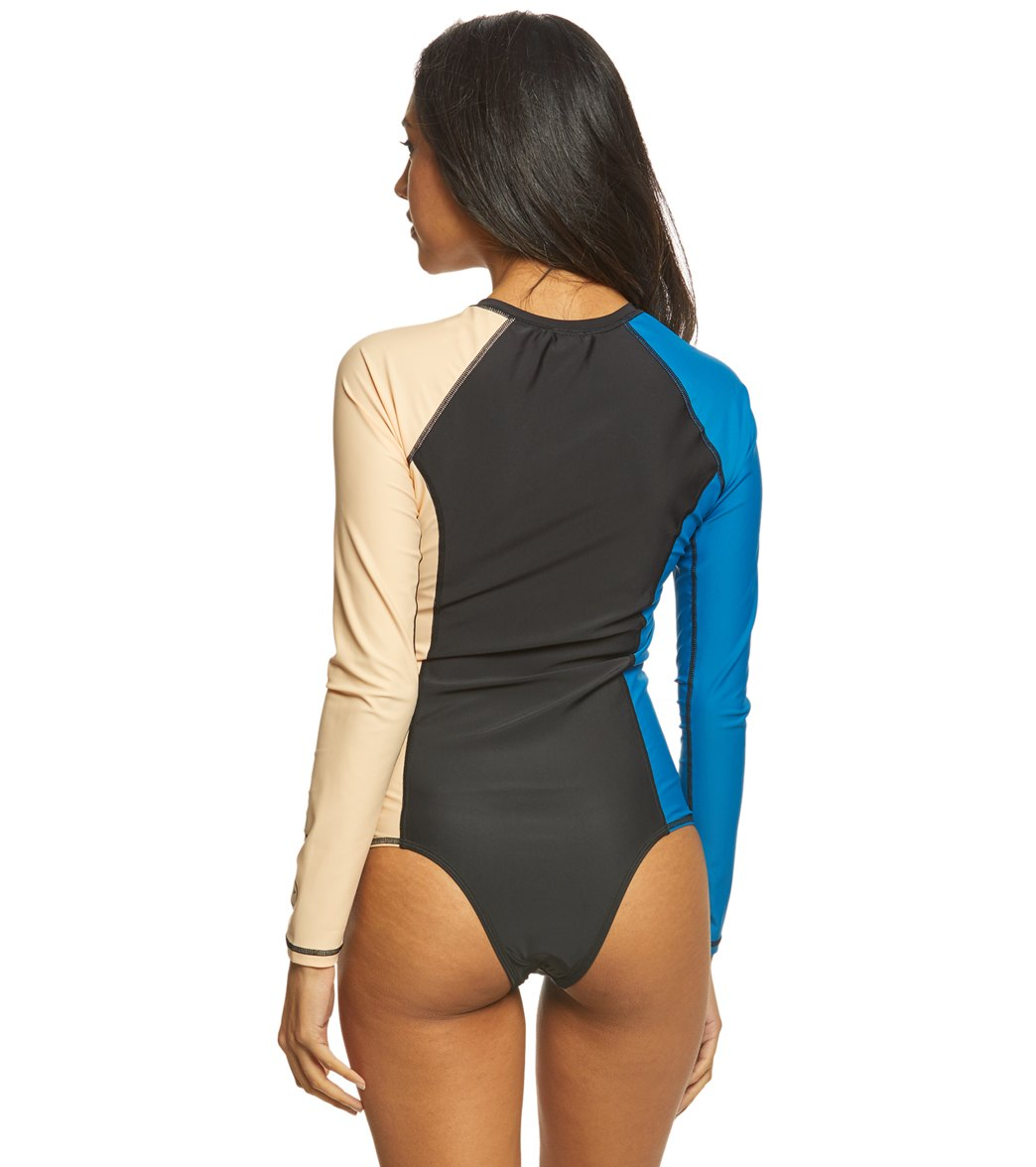 Volcom Simply Solid Long Sleeve Bodysuit at SwimOutlet.com - Free ... bdc14f858