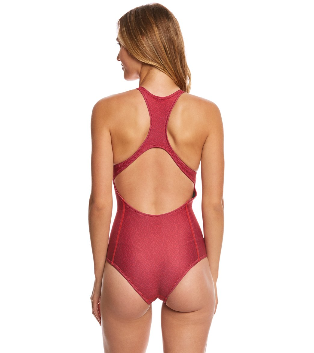 28f7552a9850e Level Six 1.2mm Neoprene Rogue High Neck One Piece Swimsuit at ...