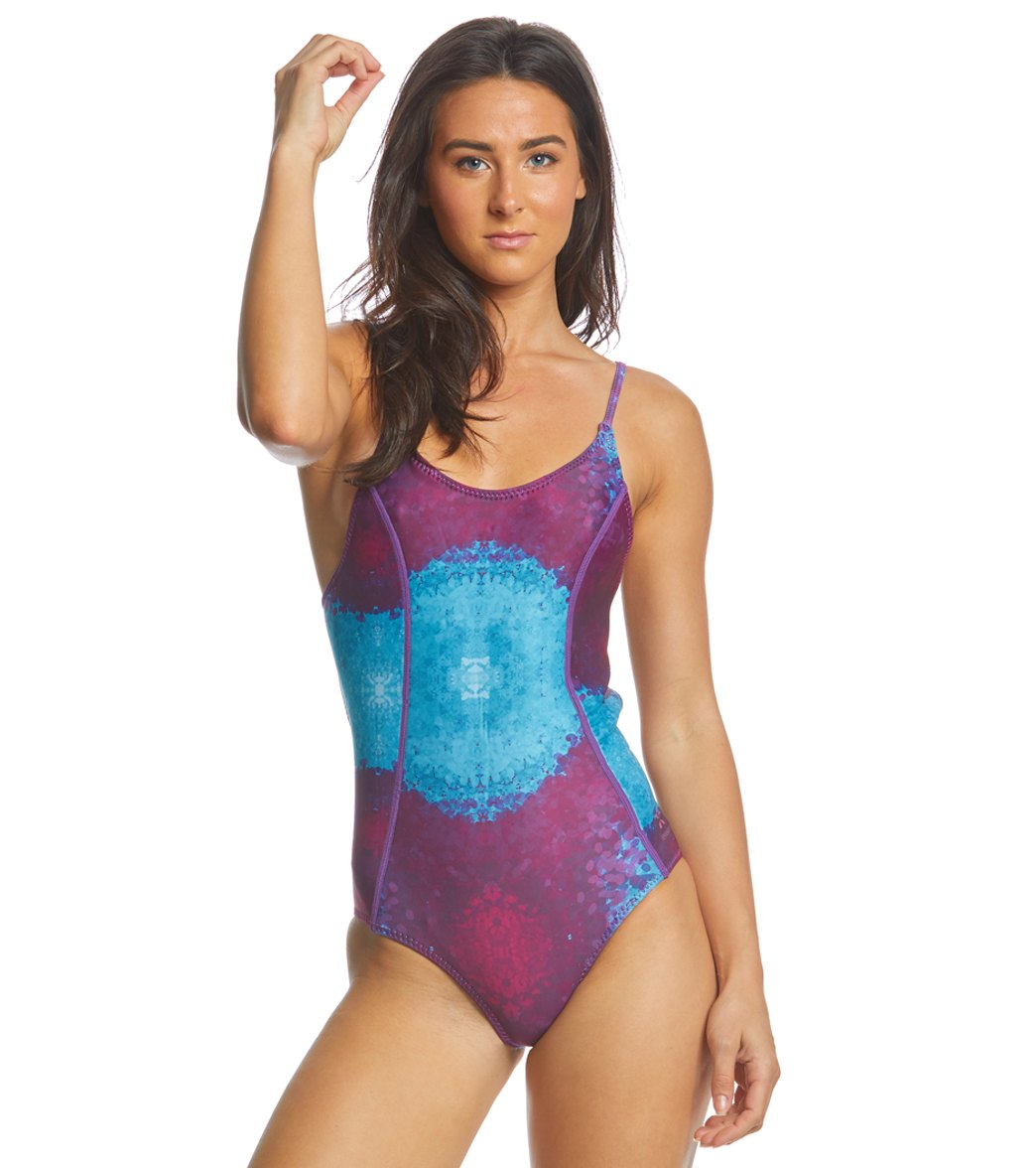 ef7634f62be4c Level Six 1.2mm Neoprene Lara One Piece Swimsuit at SwimOutlet.com - Free  Shipping
