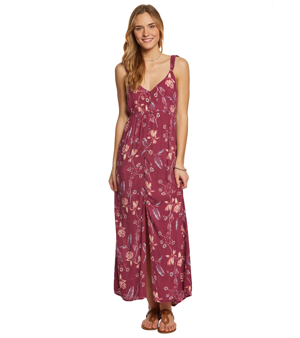 2b442bb7d2b Billabong First Dreamer Maxi Dress at SwimOutlet.com - Free Shipping