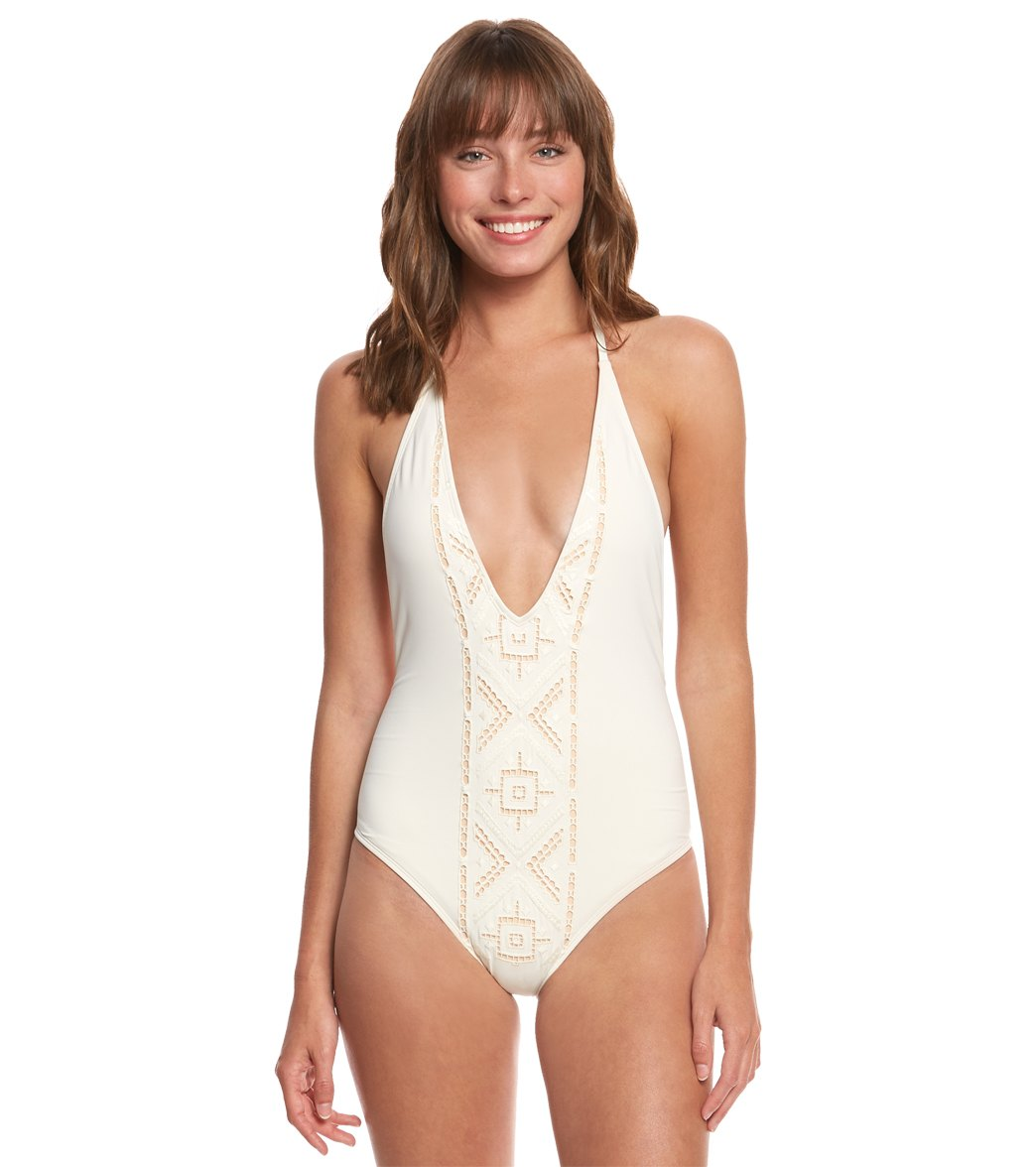 703f62c0b542b2 Billabong At Sea One Piece Swimsuit at SwimOutlet.com - Free Shipping