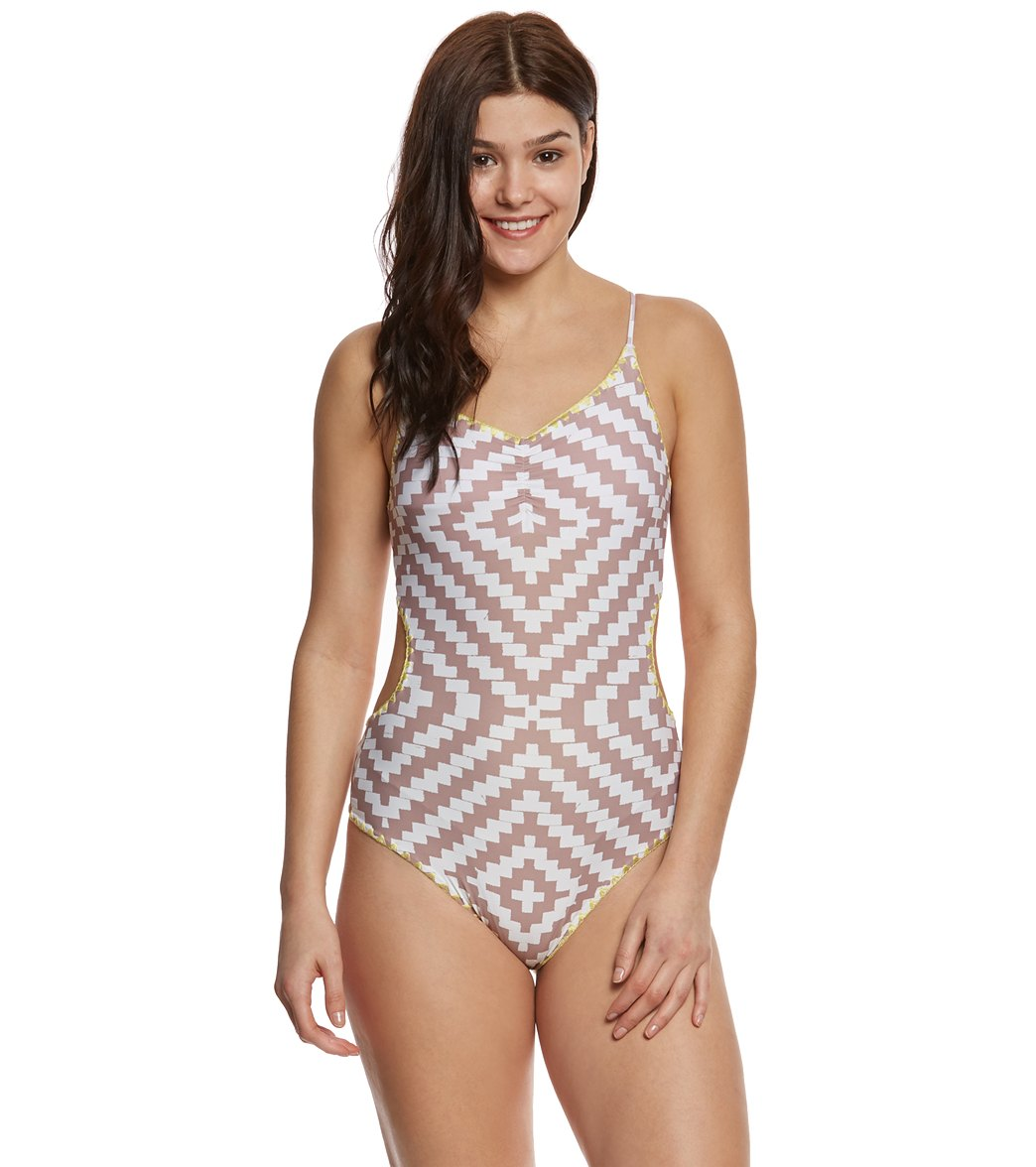 782948e7ee O'Neill Swimwear Surf Bazaar One Piece Swimsuit at SwimOutlet.com - Free  Shipping