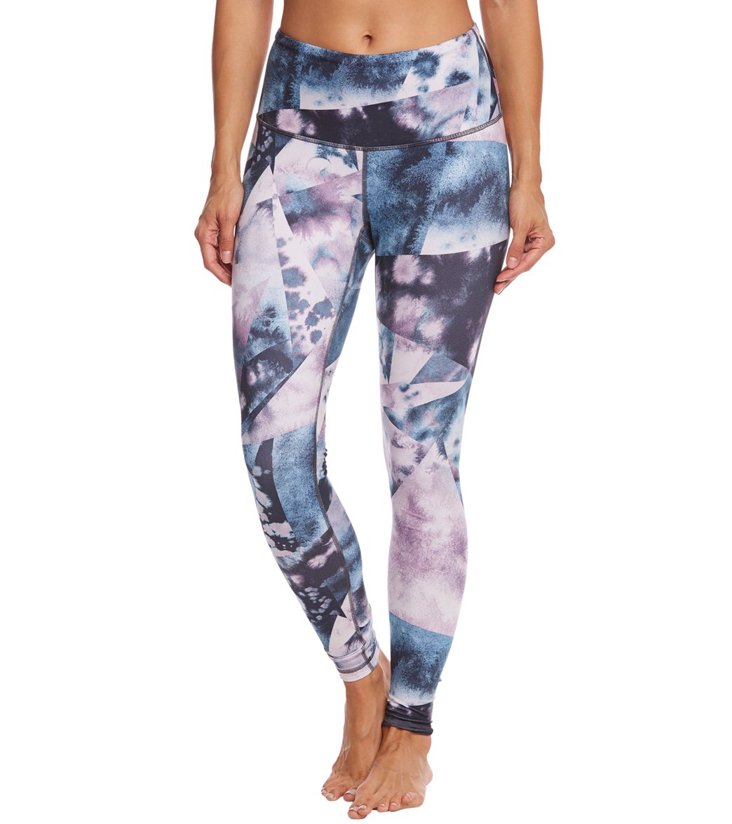 1992d301bf9ce Lucy Women's Printed Studio High Rise Hatha Legging at SwimOutlet.com -  Free Shipping