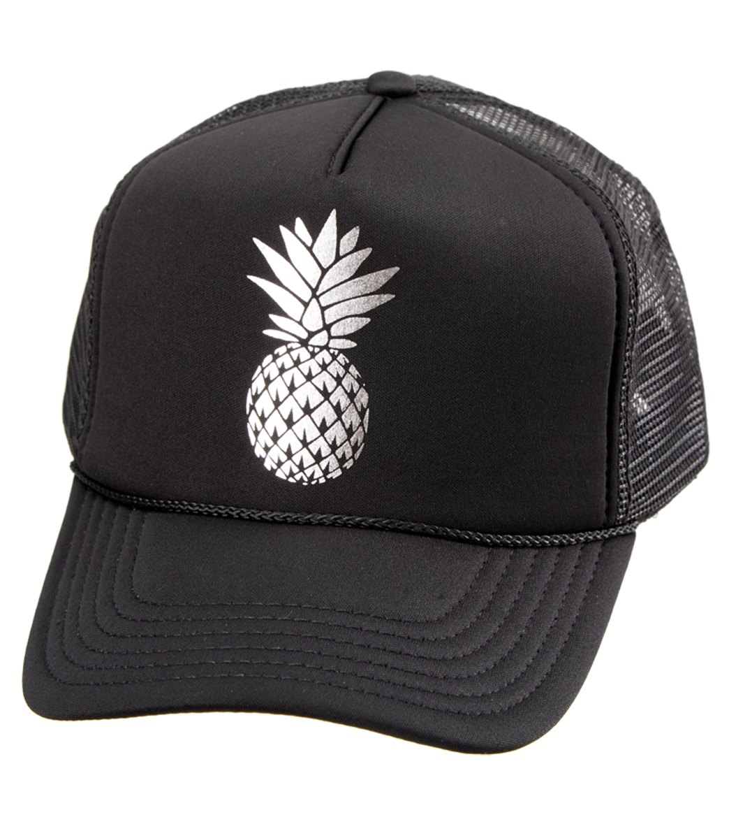 e6aa49979f9 O Neill Beach Squad Pineapple Trucker Hat at SwimOutlet.com