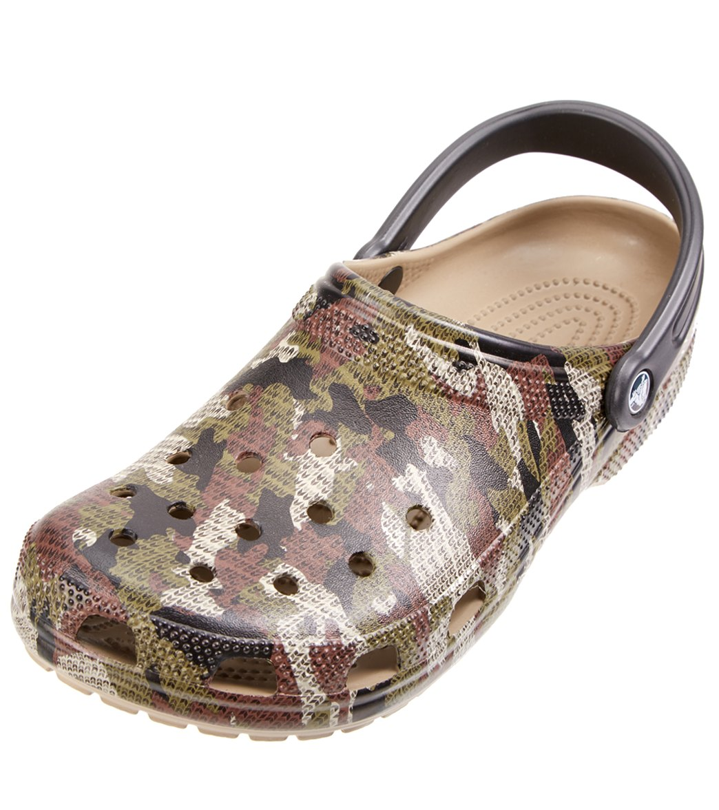 b63ffa756 Crocs Classic Camo Clog at SwimOutlet.com