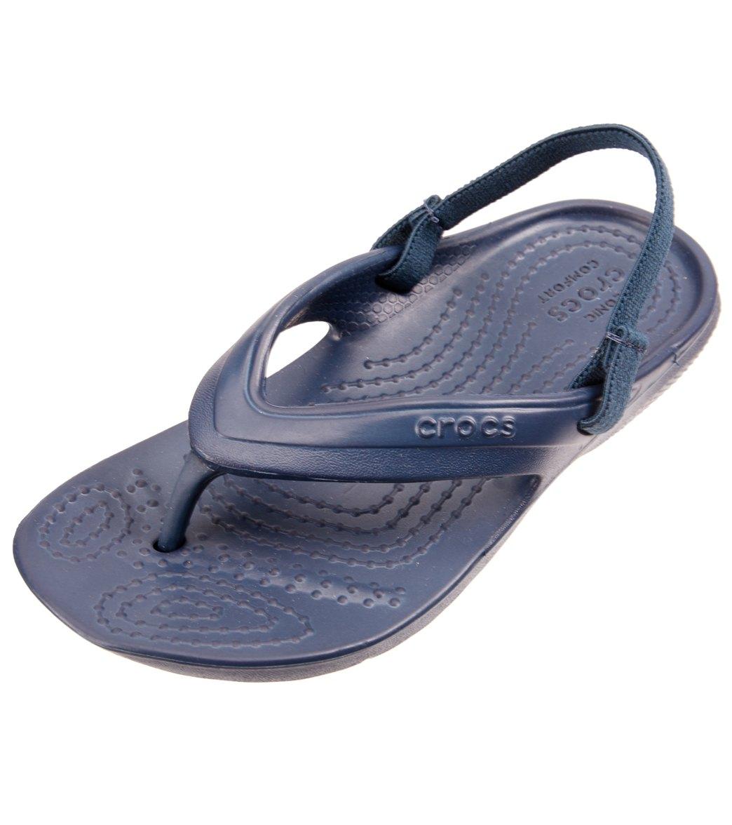 95b773aab34 Crocs Kid s Classic Flip Flop at SwimOutlet.com
