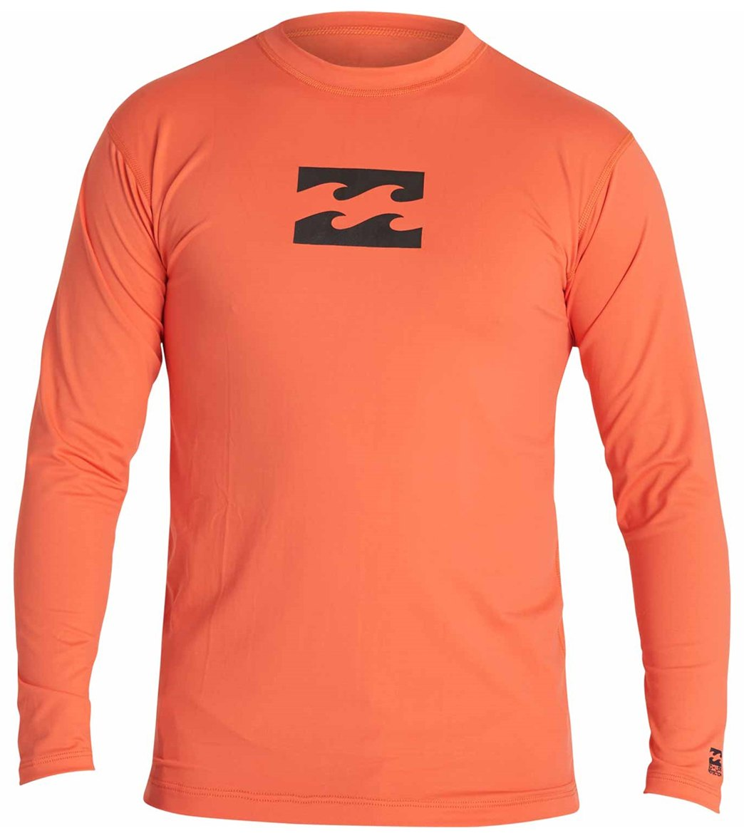 df3bf507 Billabong Boys' All Day Wave Long Sleeve Swim Shirt at SwimOutlet.com