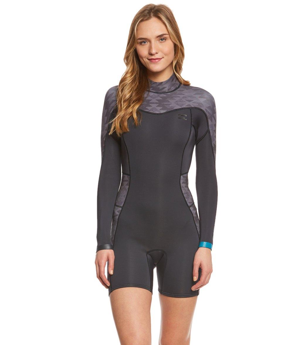 ... Billabong Women s 2mm Synergy Back Zip Long Sleeve Springsuit Wetsuit  Play Video. MODEL MEASUREMENTS 1102618b7
