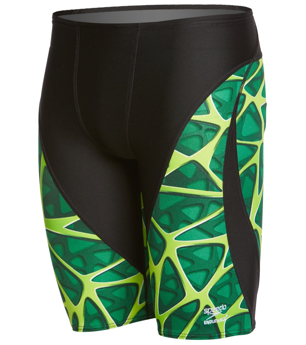 Swimsuit Speedo Men/'s and Women/'s Swimwear 7705800-P Speedo Mens Caged Out Jammer Endurance