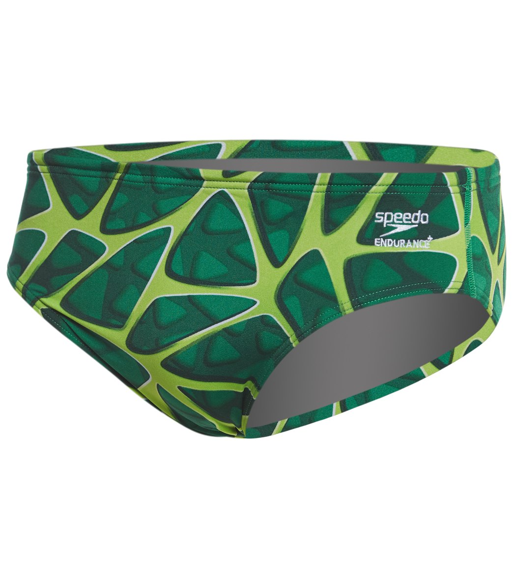 Speedo Endurance+ Men s Caged Out Brief Swimsuit at SwimOutlet.com afb640d0c67e