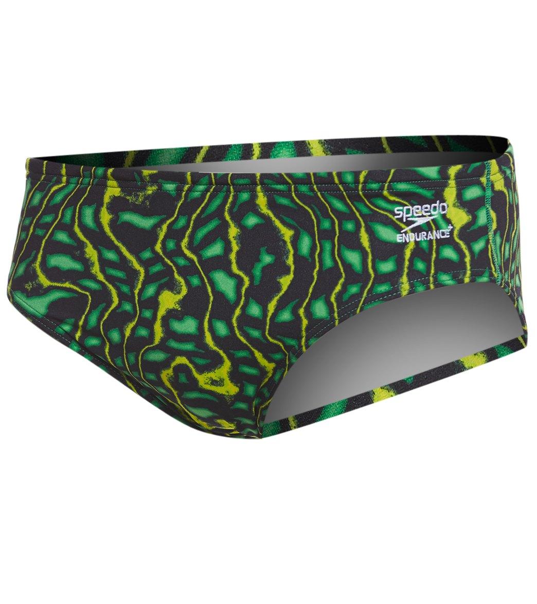 76f9ae697c Speedo Endurance+ Men's Amplified Pulse Brief Swimsuit at ...