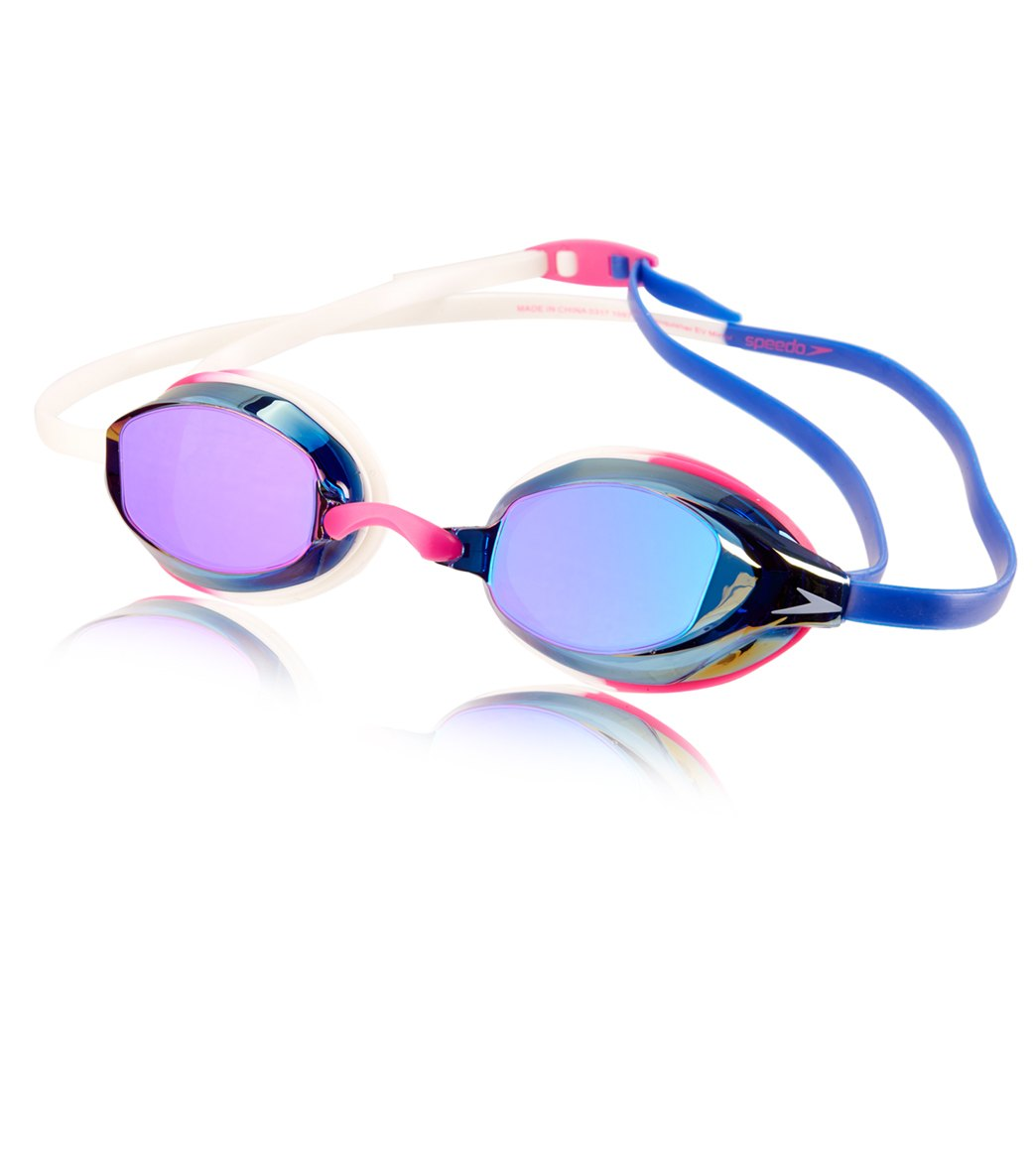 20a09bb6857 Speedo Vanquisher EV Mirrored Goggle at SwimOutlet.com