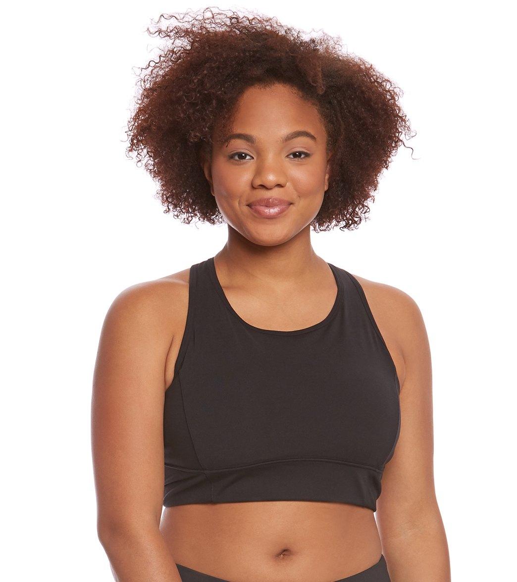 b95bbf7ea ... Lucy Women s Plus Size High Impact Workout Bra. Play Video. Play Video