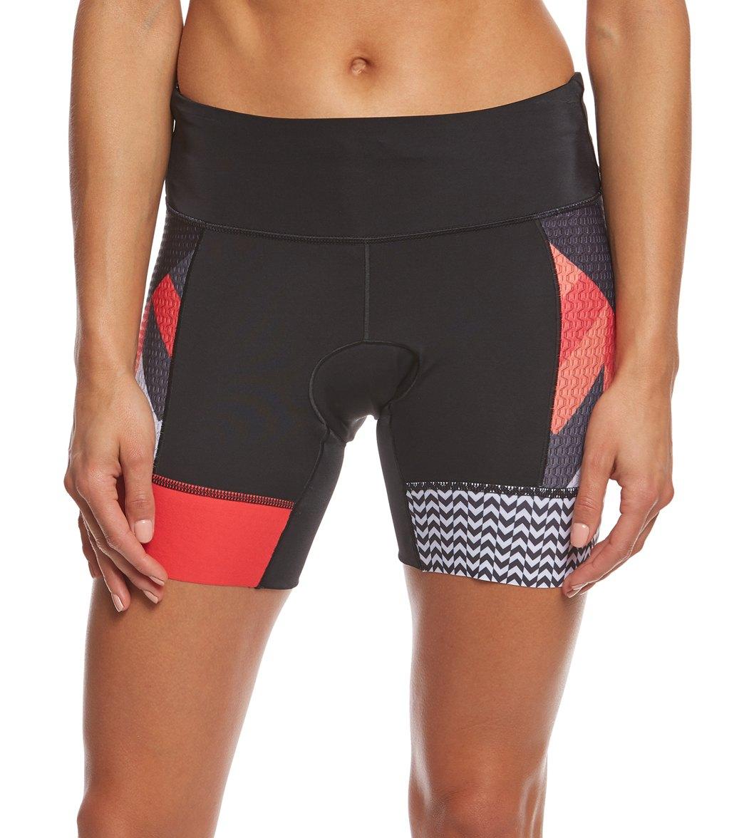 Zoot Women s Ultra Tri 6 Inch Short at SwimOutlet.com - Free Shipping d5a8bdb155
