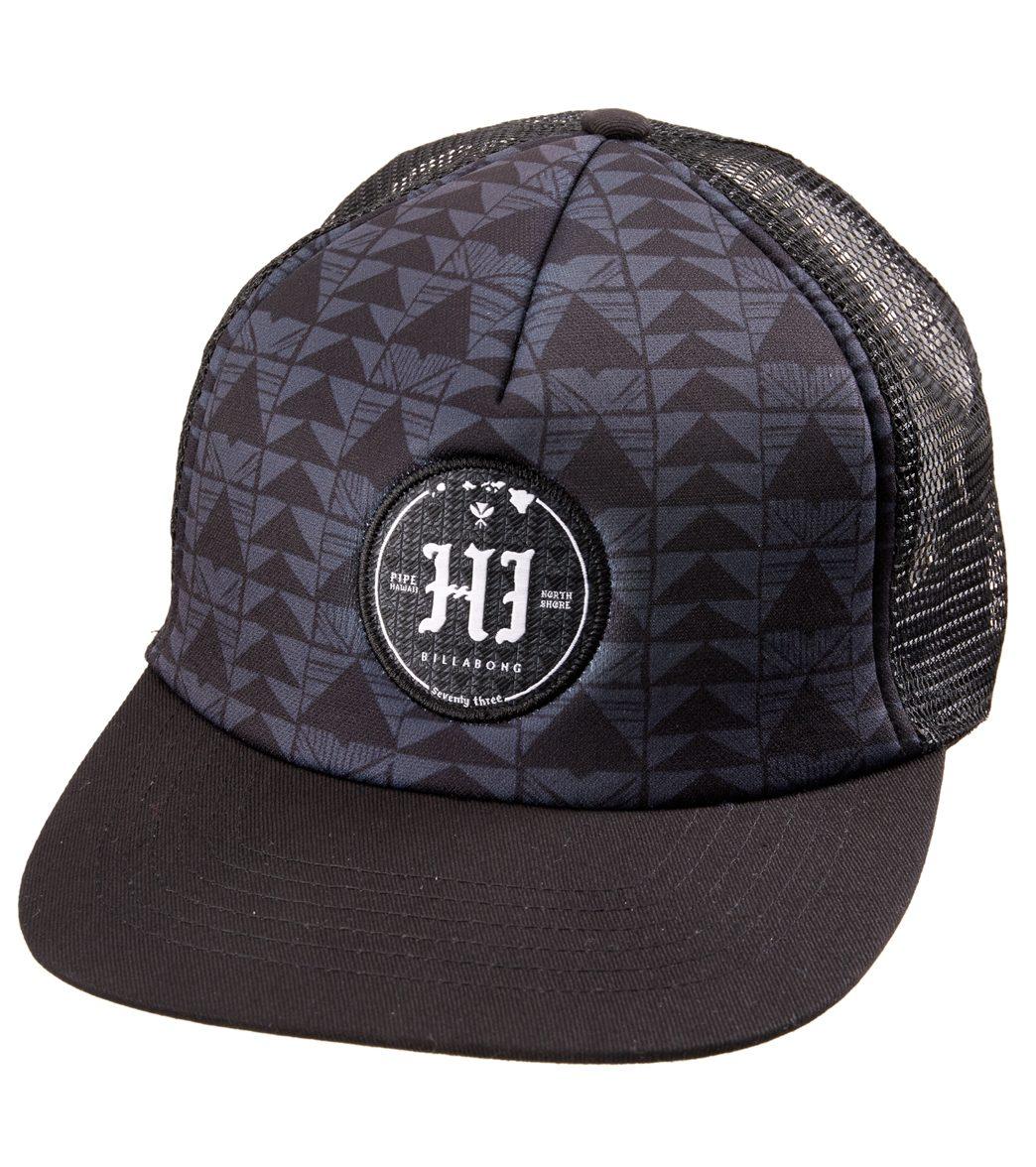 8d8bcc4f0ff Billabong Men s Hi Pipe Trucker Hat at SwimOutlet.com