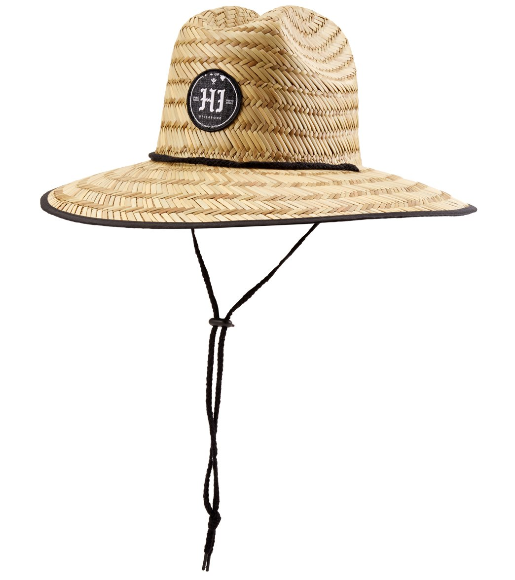 Billabong Mens Pipe Masters Straw Hat At Swimoutletcom