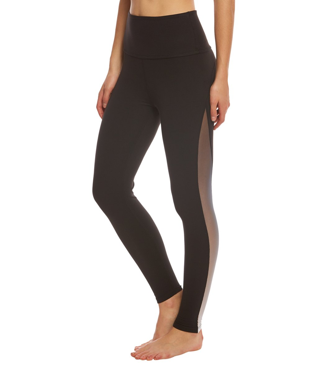 b3108268fec2a Beyond Yoga Ommmbre Mesh High Waisted 7/8 Yoga Leggings at ...