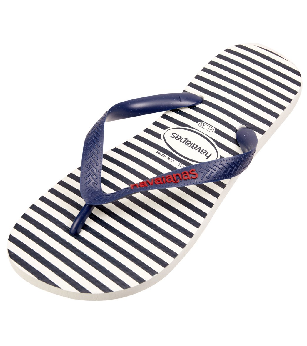 dfc430fe2ad Havaianas Men s Top Nautical Flip Flop
