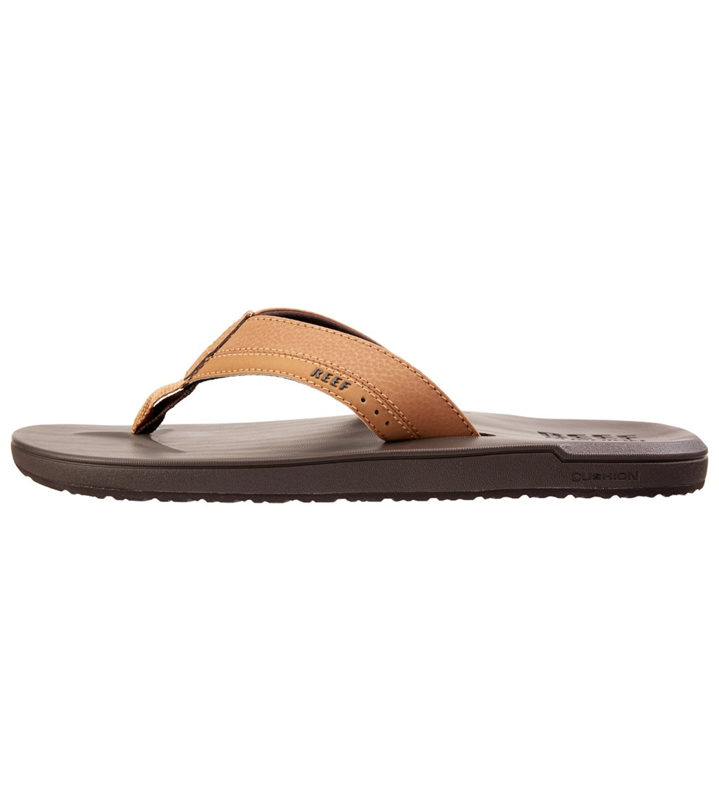 66221455564c Reef Men s Contoured Cushion Flip Flop at SwimOutlet.com