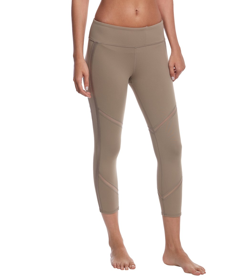 c156d30d60 Alo Yoga Continuity Yoga Capris at YogaOutlet.com - Free Shipping