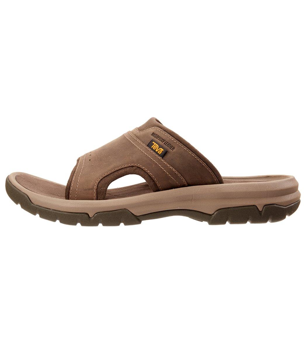 5aa19bc22737 Teva Men s Langdon Slide Sandal at SwimOutlet.com - Free Shipping